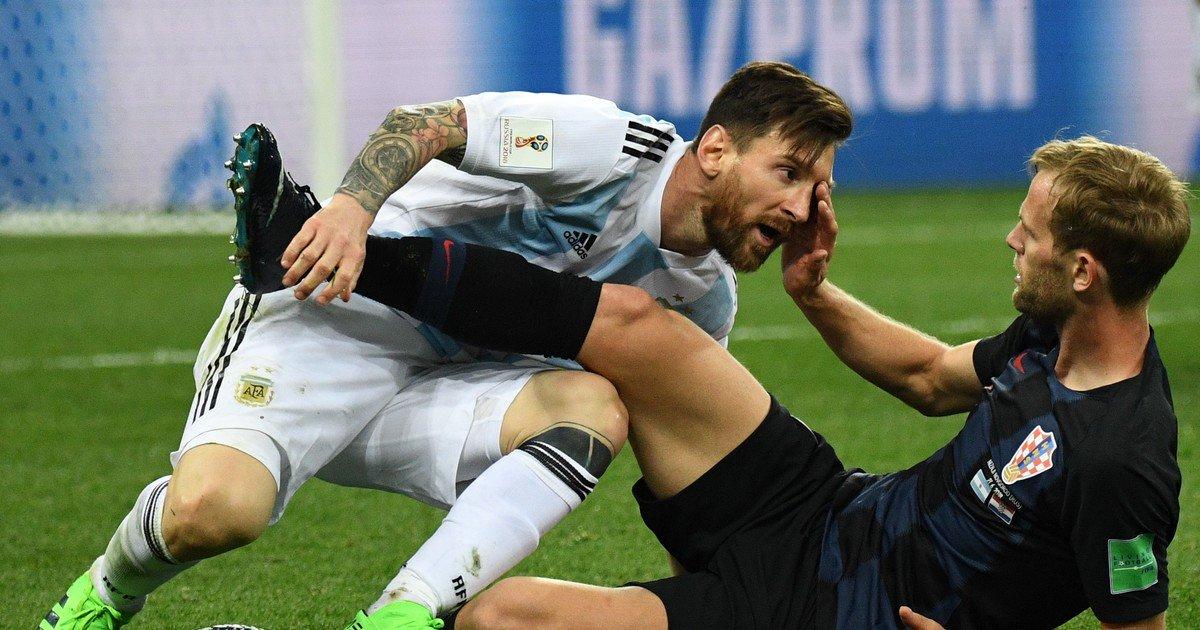 Футболисты сборной Хорватии разгромили аргентинцев в матче ЧМ-2018