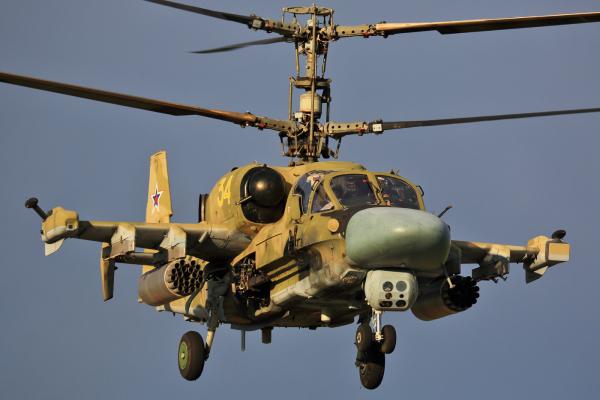 Экипажи двух вертолетов Ка-52 вернулись из Сирии в Россию (За прошедшую неделю из Сирии вернулись одиннадцать боевых самолетов и вертолетов)