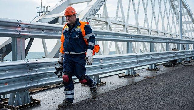 ЕС ввел санкции против шести компаний из-за строительства Крымского моста