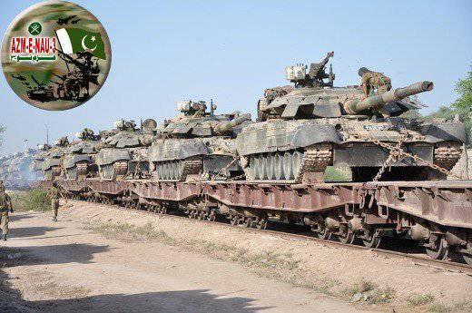 Пакистан предпочел Россию в качестве места модернизации танков Т-80УД украинского производства