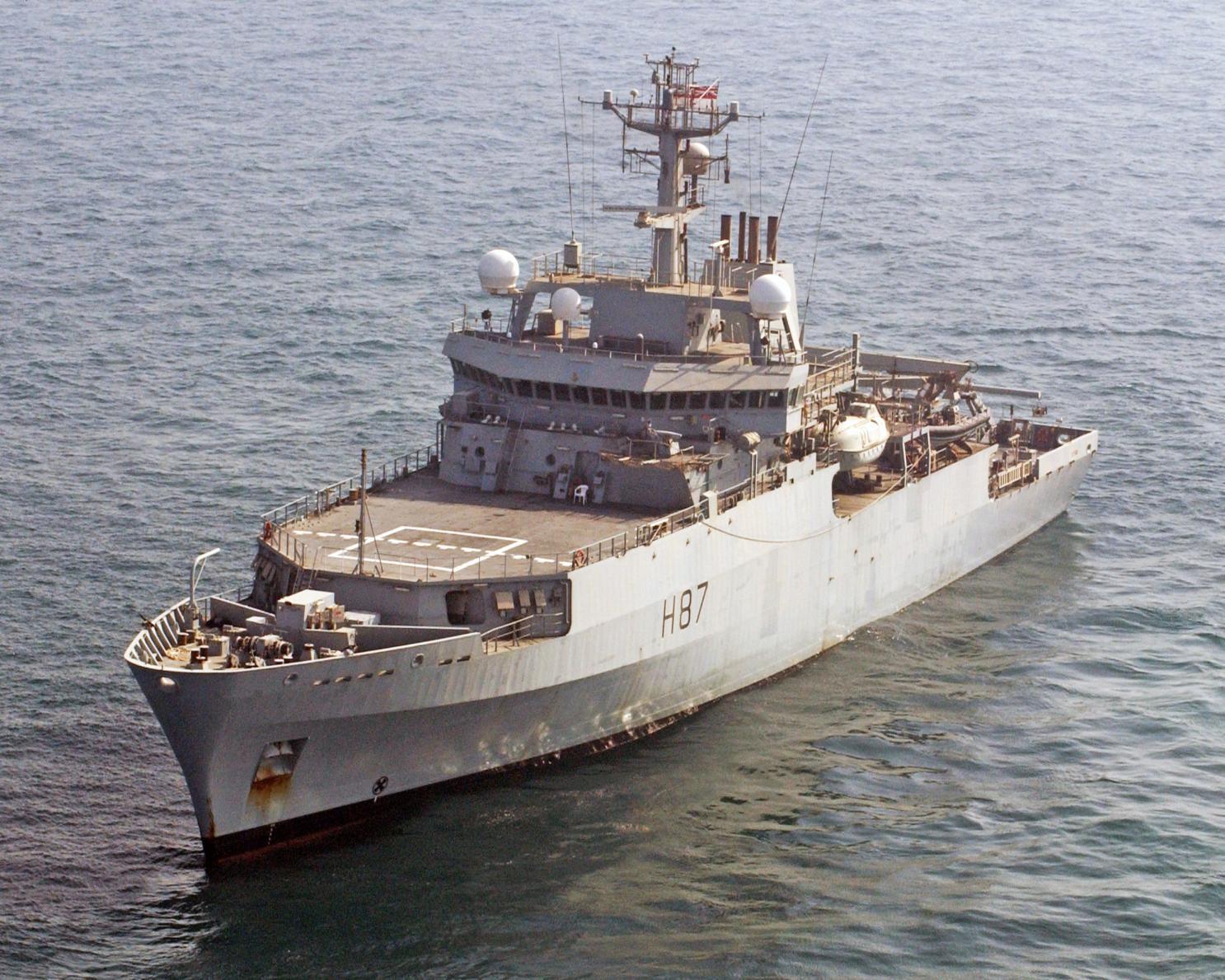 The National Interest: Британия отправила запугивать Россию корабль, вооруженный хуже украинских катеров