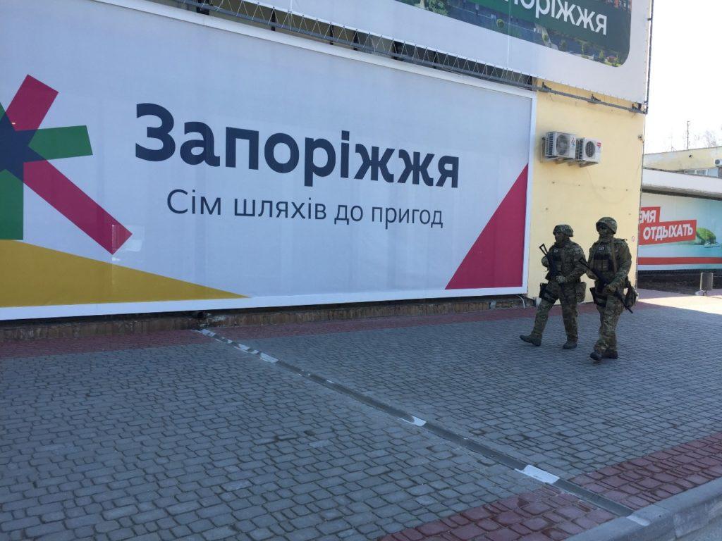 Выборы под дулом автоматов (СБУ взяла под охрану крупные города Украины)