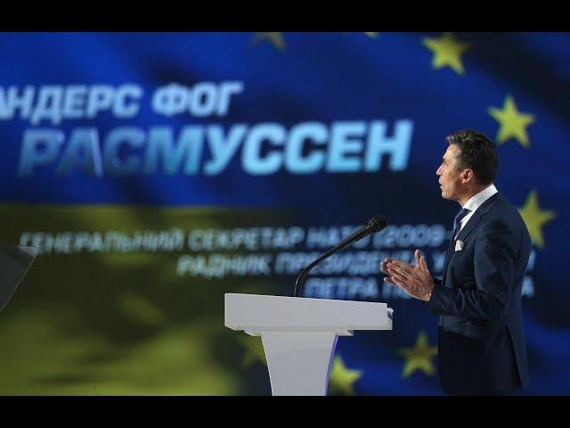 СМИ: бывший генсек НАТО Андерс Фог Расмуссен пообещал Зеленскому помочь наладить контакты с мировыми лидерами