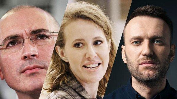 Навальный, Собчак и Ходорковский не удержались от пиара на трагедии в Шереметьево