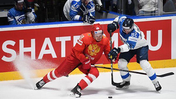 Сборная России уступила Финляндии и не смогла выйти в финал ЧМ по хоккею
