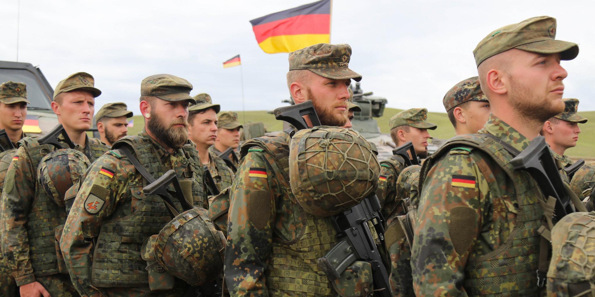 """""""Мы хотим, чтобы наземные войска ФРГ..... """"  США призвали Германию отправить наземные войска в Сирию"""