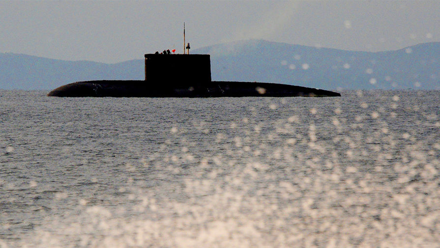 Российскую подлодку обнаружили у берегов Израиля