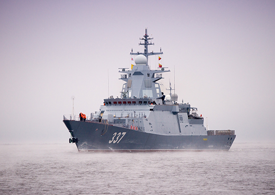"""Корвет """"Гремящий"""" выполнил стрельбу """"Калибром"""" в ходе испытаний в Белом море"""