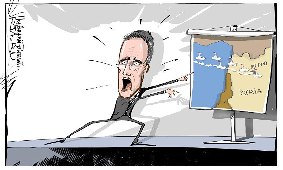 Times заявила о появлении трех российских подлодок в Средиземноморье