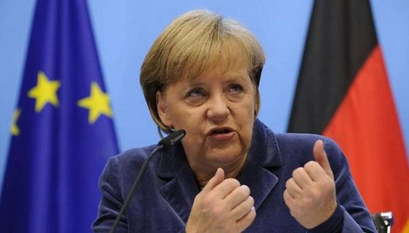 """""""Северный поток-2"""". Меркель указала балтийским """"шпротам"""" их место: """"Я знакома с критическим мнением стран Балтии о газопроводе, но потребность Германии в газе будет расти"""""""