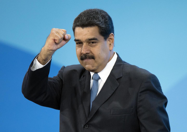 """[""""ещё напор - и враг бежит""""] Мадуро: Венесуэла победила на заседании Совбеза ООН, госсекретарь США Помпео сбежал раньше его окончания"""