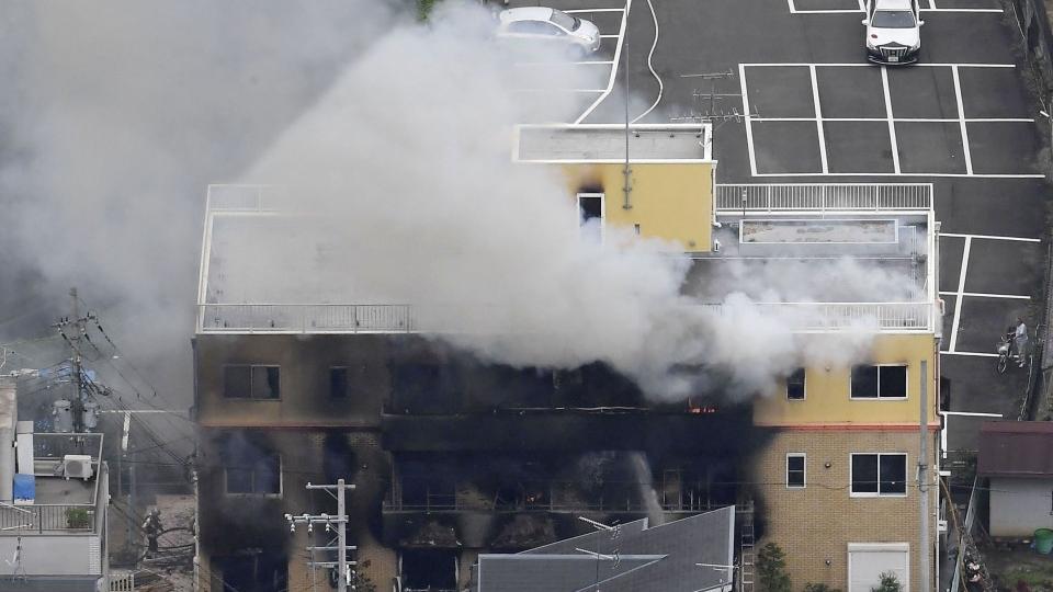 Число погибших в результате поджога студии Kyoto Animation достигло 23