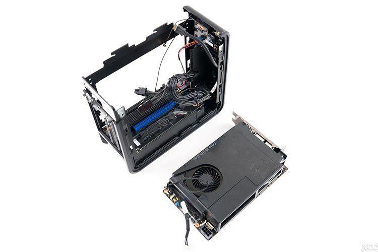 Модульный компьютер Intel рассекречен: это - геймерский NUC 9 Extreme с дискретной видеокартой