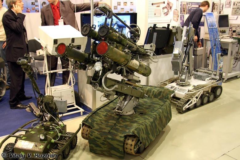 Российские боевые наземные роботы