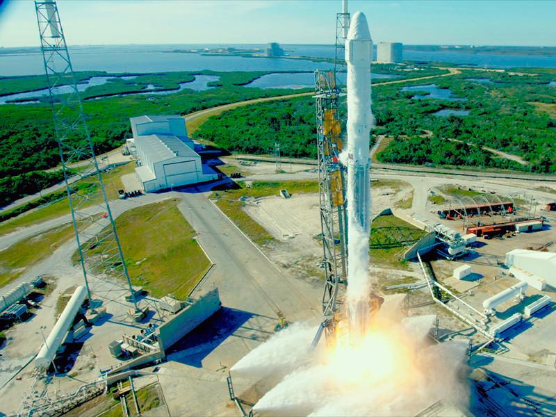 SpaceX впервые запустила на МКС ракету с Falcon 9 с использованной первой ступенью