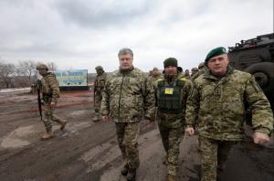"""Порошенко объявил о начале """"операции объединённых сил"""" в Донбассе"""