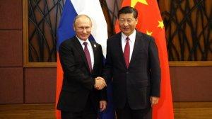Председатель КНР поздравил Путина с победой на выборах