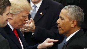 [«Во всём виноват...»] Трамп заявил, что Обама фактически уже признал Крым российским: «Виноват Обама. Я не рад тому, что произошло c Крымом. Но это произошло при Обаме, в его «смену», а не в мою»