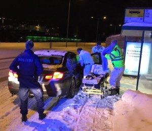 В финской столице у женщины приняли роды у автобусной остановки