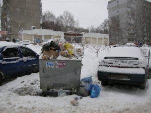 Мусорная реформа утонула в отходах. Нижегородцы фотографируют переполненные баки
