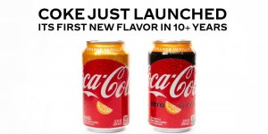 Coca-Cola анонсировала появление нового вкуса