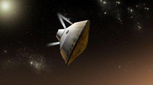Инженеры NASA предложили исследователям Марса сэкономить на парашютах и садиться на ракетной тяге