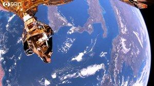 Созданный в России спутник снял первое в мире видео Земли в формате 4K