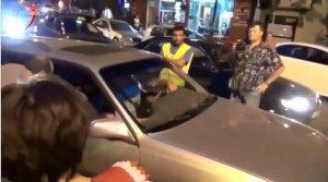 [Видео от 2014 года]Видео нападения на российскую семью в Грузии появилось в Сети