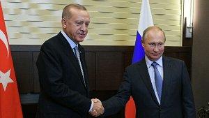 Путин заявил о судьбоносных решениях России и Турции по Сирии