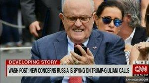 """CNN рассказал о возможной прослушке разговоров Трампа и его адвоката - Россия могла """"кормить"""" их дезинформацией"""