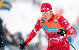 Россияне выиграли мужскую эстафету на этапе Кубка мира по лыжным гонкам   (На пьедестале почета оказались две российские команды)