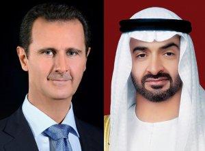 Состоялся, первый за 9 лет, телефонный разговор между наследным принцем ОАЭ Мохаммед бен Заид и президентом Сирии Башаром Асадом