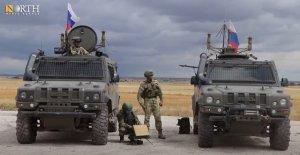 Российская военная полиция открыла движение для сирийцев по трассе М-4