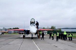 """Очередная партия истребителей Су-35С изготовлена для """"Русских Витязей"""""""