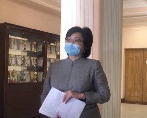 Министр здравоохранения Бурятии подхватила…