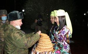 Спецназ ЦВО прибыл вУзбекистан насовместное…
