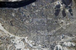 Космонавты сфотографировали Самару с высоты 420…