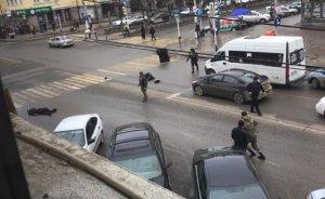Вцентре Грозного боевики напали…
