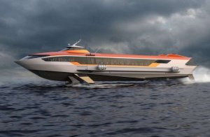 """Первое судно на подводных крыльях """"Метеор 120Р"""" представят на 800-летие Нижнего…"""
