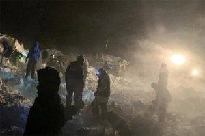 В Норильске снежная лавина сошла на туристические…