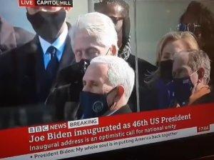 Билл Клинтон заснул во время инаугурации Джо…