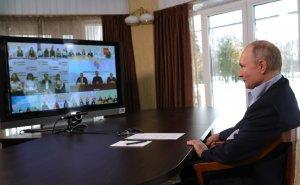 Владимир Путин в режиме видеоконференции провёл встречу с представителями…