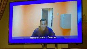 Мособлсуд признал арест Навального…