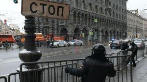 В Петербурге почти завершилась незаконная акция на Пионерской…