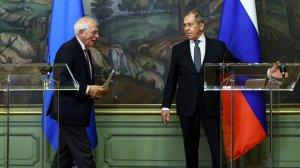 Ответ Лаврова Боррелю: ЕС не является надежным партнером для…