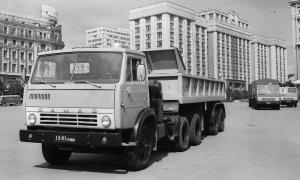 """Революционный для страны грузовик: легендарному """"Камазу"""" - 45…"""