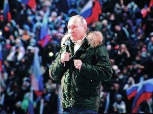 Путин возвращается в…