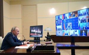 Путин предложил принять всемирные законы о…