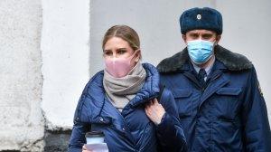 Суд приговорил  Соболь к одному году исправительных работ условно  (Ее признали…