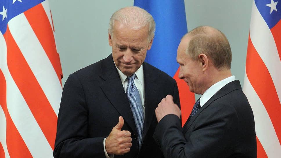 Джо Байден раньше пытался указывать Владимиру Путину, стоит ли ему выдвигаться в президенты